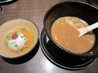 豚つけ 濃厚豚骨魚介スープ だしご飯2.jpg